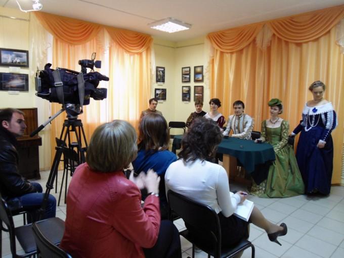 """Пресс-конференция """"Возрождение культуры старинного танца"""""""