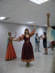 Урок средневекового танца