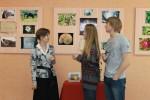 Экскурсия на открытии выставки