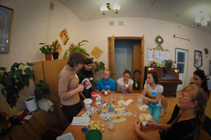 Новогодний праздник в Таватуйском детском доме
